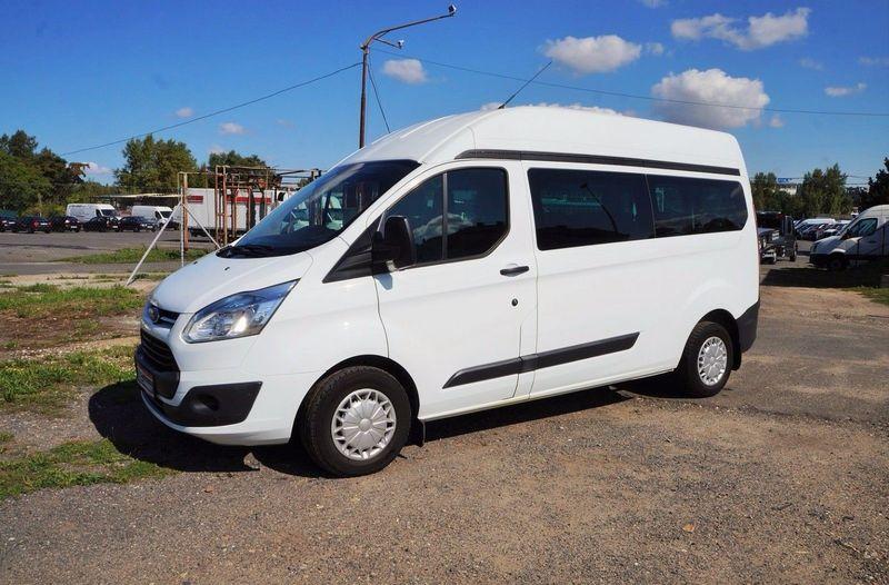 продажа Ford Transit Custom 2 2 92kw L2h2 9 Sitze Klima Voll микроавтобус цена 14600 Eur Truck1 2585465