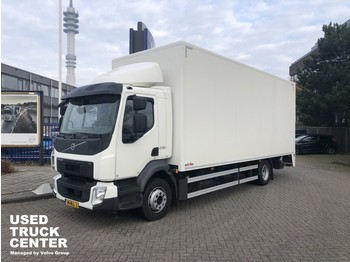 Грузовик с закрытым кузовом Volvo FL 240 4x2 Rigid, closed box, full length tailgate LOW MILLEAGE