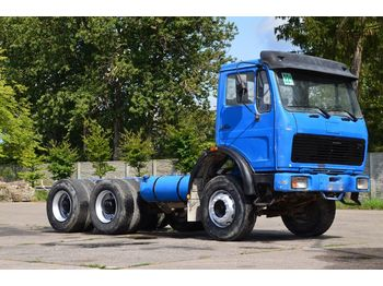 MERCEDES-BENZ 2222 6x4 1988 chassis - грузовик-шасси
