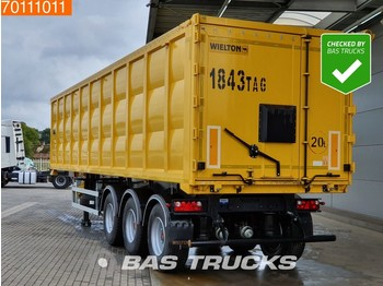 Самосвальный полуприцеп Wielton NW-3 56m3 Stahl-Kipper *New Unused* Liftachse TIR SAF