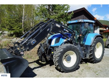 New Holland TVT 170 - колёсный трактор