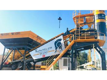 FABO TURBOMİX 120 NEW DESIGN MOBILE CONCRETE BATCHING PLANT IN ALL CAPACITIES - бетонный завод