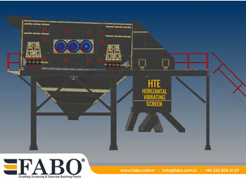 FABO FABO HORIZONTAL VIBRATING SCREEN - дробилка