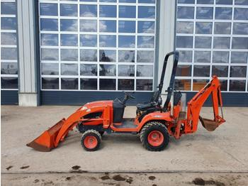 Kubota BX25D Compact Backhoe Loader, Bucket - экскаватор-погрузчик
