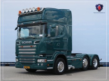 Scania R560 LA6X2/4MNB | V8 | 8T | Leather seats | Navi | PTO | Hydraulic - тягач