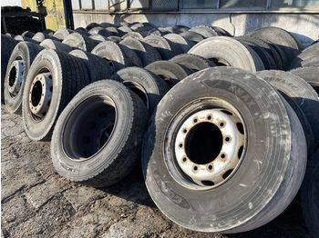 COMPLETE WHEELS / GOODYEAR MICHELIN CONTINENTAL DUNLOP - шины